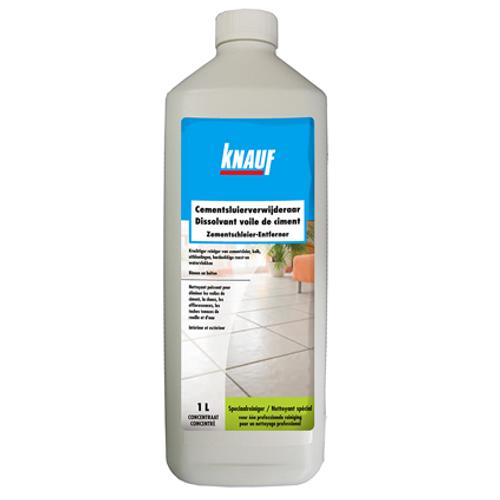 Dissolvant de voile de ciment Knauf 1 L