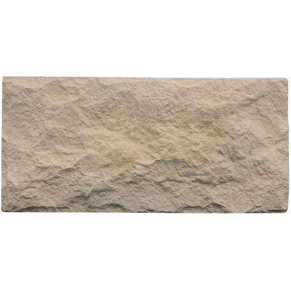 Decor steenstrip 'Euroc' crème