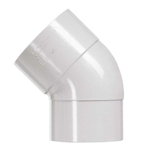 Martens bocht grijs 80 mm 45 grd