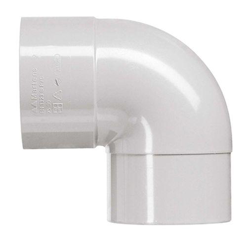 Martens bocht grijs 80 mm 87 grd