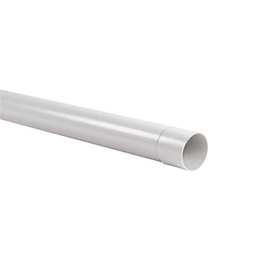 Martens buis voor dakgoot 'L.2m - G125' PVC diam 80 mm