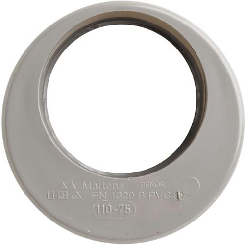 Martens verloop 75x110mm 1xlm grijs