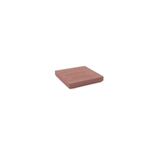 Dalle béton rouge 30x30xcm