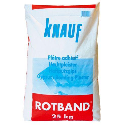 Knauf hechtpleister Rotband 25kg