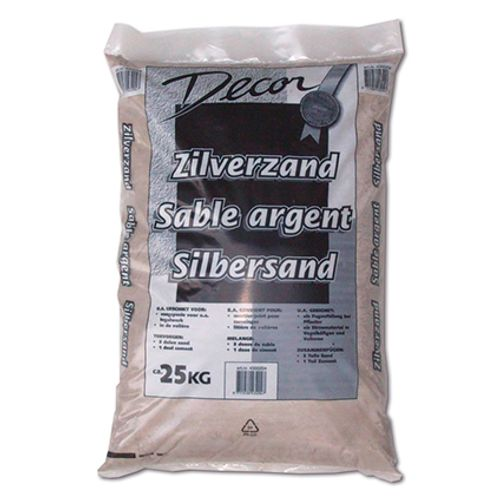 Decor zilverzand 25kg