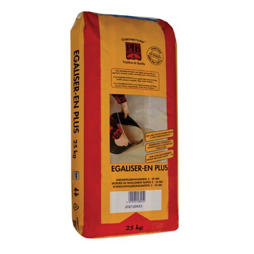 PTB snelnivelleringsmortel 'Egaliser-en-plus' 25 kg