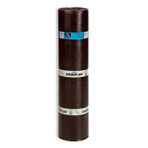 Aquaplan thermomeltbaar dakrol Polymec zwart AR 1 x 10 m