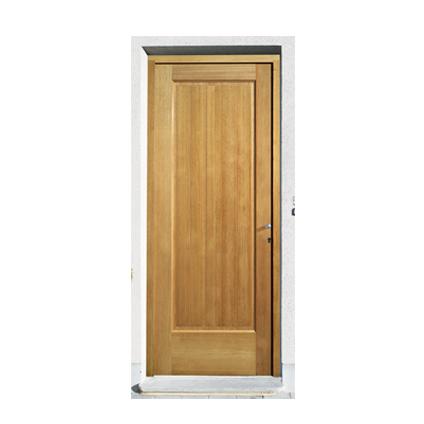 Bloc porte extérieur JéWé 'Luxembourg' bois dur gauche 83cm