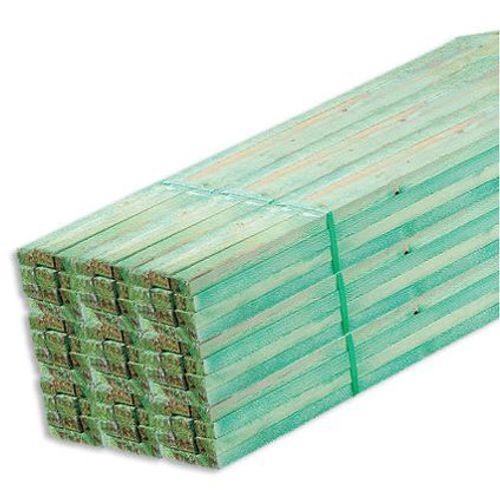 Geïmpregneerd ruw hout witte Noorse den 180 x 4,7 x 4,7 cm