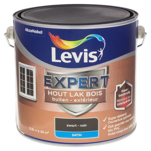 Laque Levis Expert noir satin 2,5L
