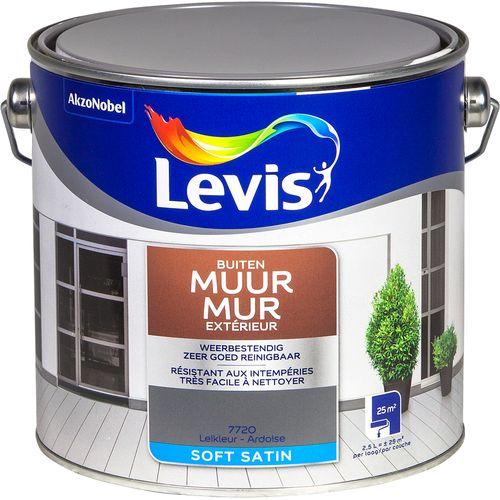 Levis muurverf 'Gevel Expert' leikleur zijdeglans 2,5L