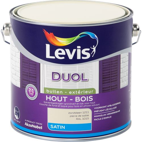Laque Levis Duol pierre de sable satin 2,5L