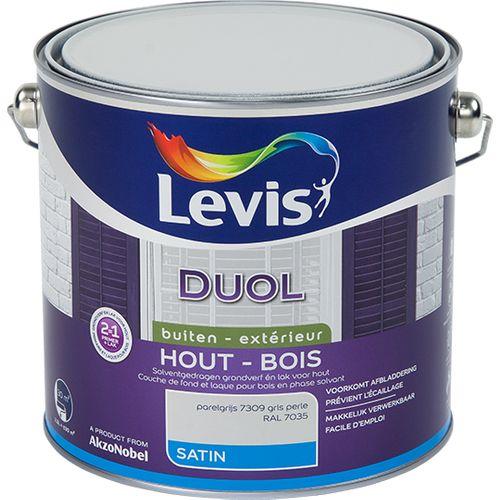 Laque Levis Duol gris perle satin 2,5L