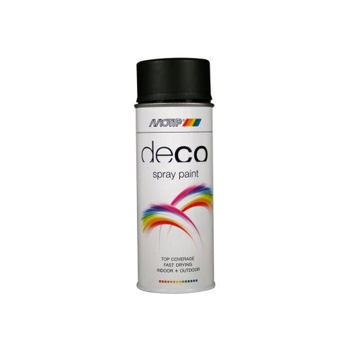 Peinture en spray MoTip CRAFTS blanc pur brillant 400 ml