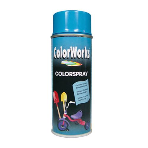 Laque ColorWorks 'Color' bleu ciel brillant 400ml