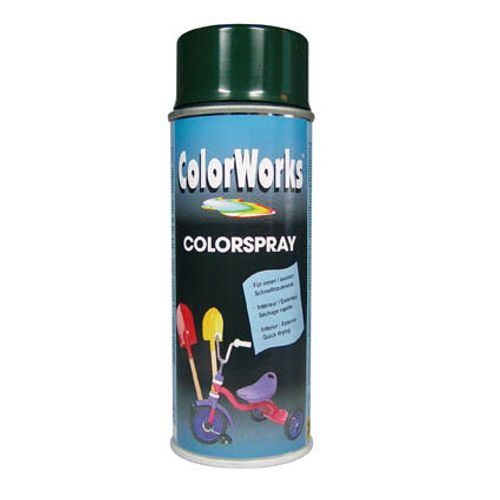 Laque ColorWorks 'Color' vert pin brillant 400ml