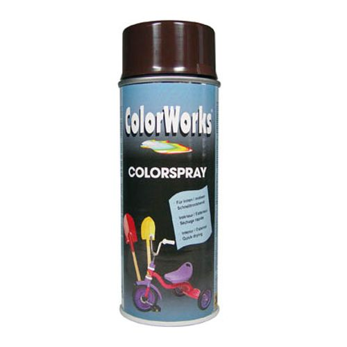 Laque ColorWorks 'Color' chocolat brillant 400ml