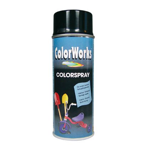 Laque ColorWorks 'Color' noir brillant 400ml