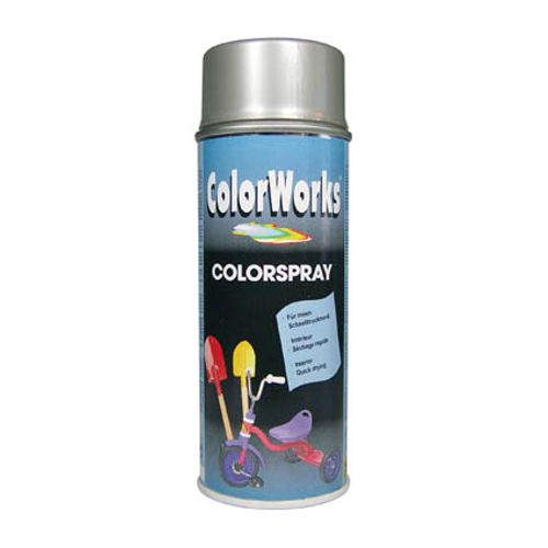 Laque ColorWorks 'Color' argent brillant 400ml