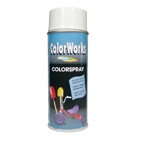 Laque ColorWorks 'Color' blanc brillant 400ml