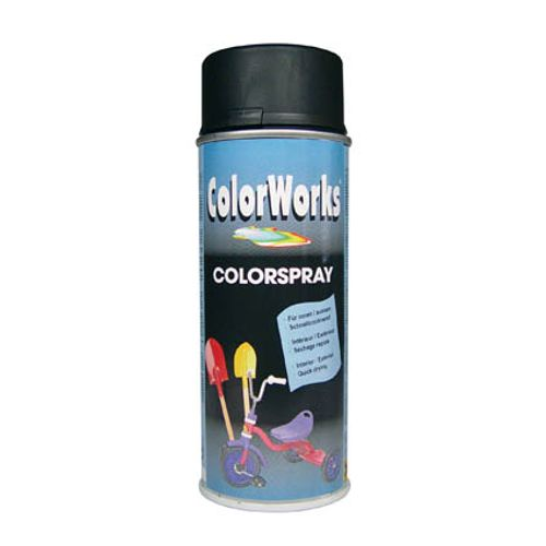 Laque ColorWorks 'Color' noir satin 400ml