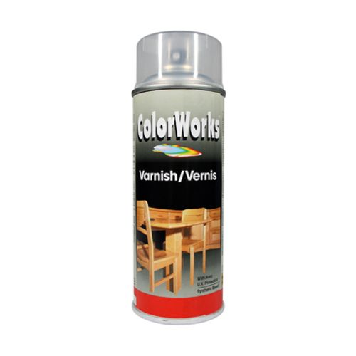 Laque ColorWorks transparent satin 400ml