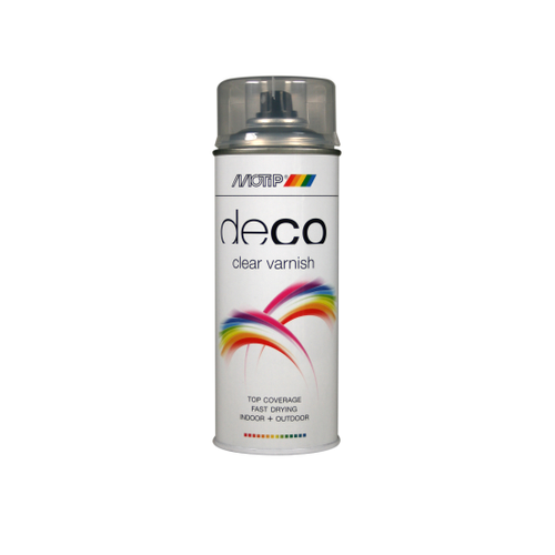 MoTip Deco Colors vernis hoogglans transparant 400ml