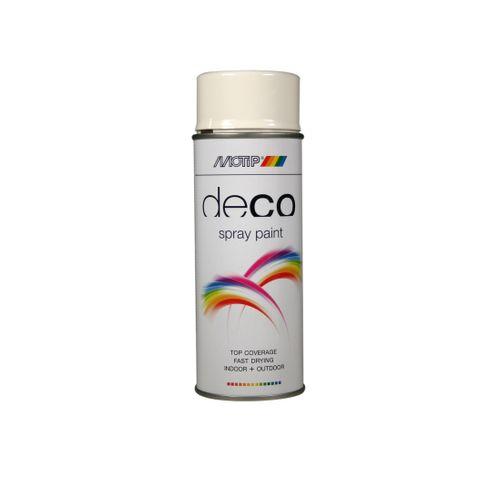 Peinture en spray MoTip CRAFTS rouge signalisation brillant 400 ml