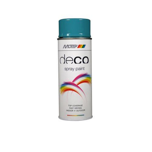 Peinture en spray MoTip Deco Colors blanc signalisation brillant 400 ml