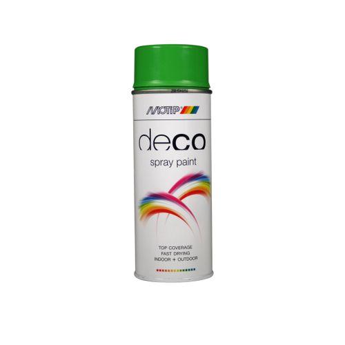 Peinture en spray MoTip CRAFTS orangé jaune brillant 400 ml