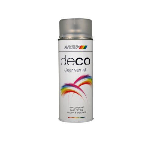 Peinture en spray MoTip Deco Colors vermillon brillant 400 ml