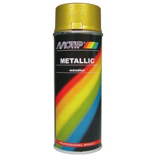Laque MoTip or métallisé 400ml