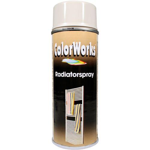 ColorWorks radiatorlak wit 400ml