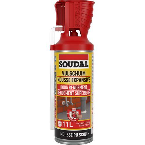 Mousse expansive manuelle Soudal 0,3L