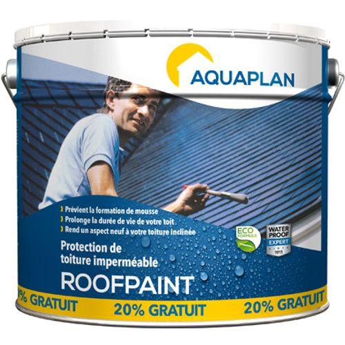 """Aquaplan """"Roofpaint"""" 10 L & 20 p/c gratis"""