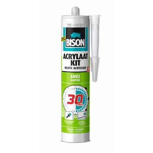 Bison acrylaatkit 30 min wit 300ml