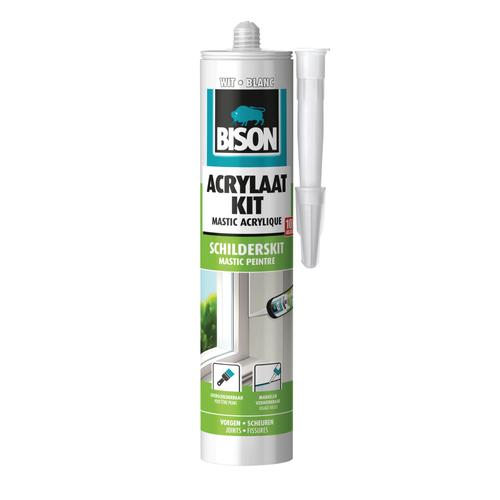 Bison acrylaatkit universeel wit 300ml