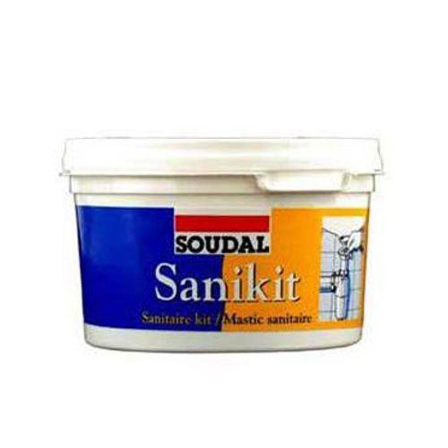 Mastic sanitaire Soudal 'Sanikit' 400 gr
