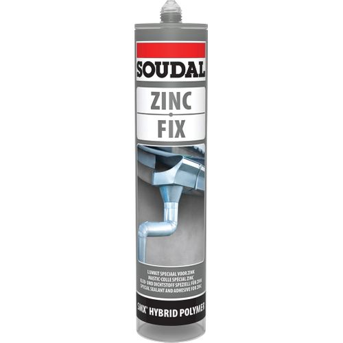 Soudal lijm 'Colozinc' 290ml