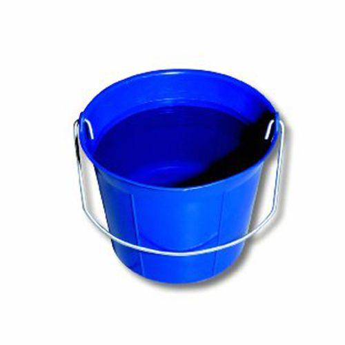 Seau en plastique bleu 11 L