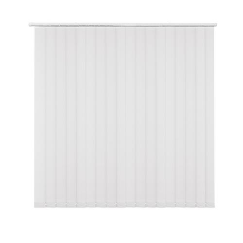 Kit store à lamelles Madeco uni blanc 150 x 260 cm