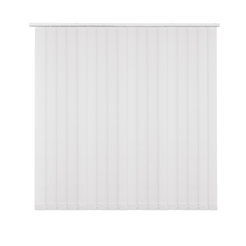 Kit store à lamelles Madeco uni blanc 200 x 260 cm