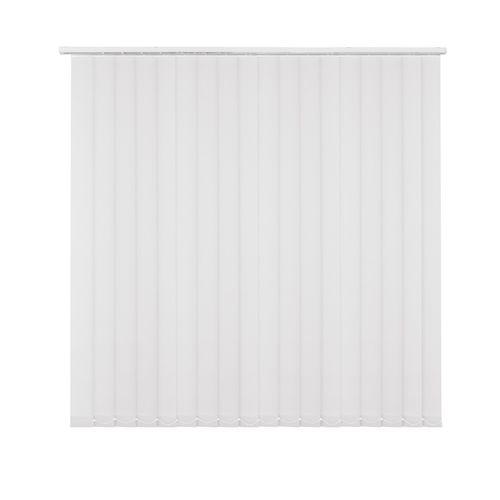 Kit store à lamelles Madeco uni blanc 250 x 260 cm
