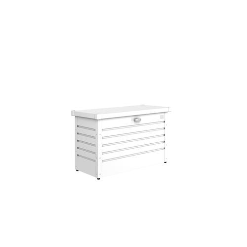 Coffre de jardin Biohort 'Hobby 100' blanc 101 x 46 cm