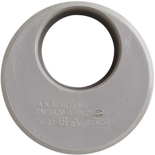 Martens verloop 40x75mm 1xlm grijs