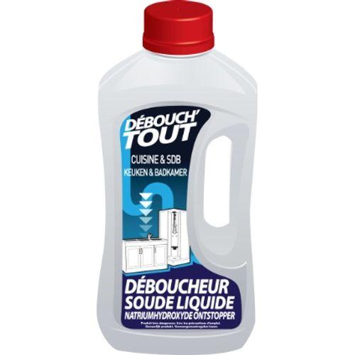 Déboucheur canalisations cuisine et salle de bains Débouch'Tout 1 L
