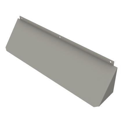 SecuMax brievenbusbeveiliging zilvergrijs