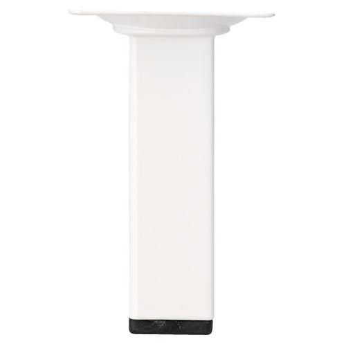 Duraline meubelpoot vierkant wit 2,5x10cm