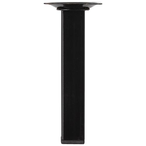 Meubelpoot metaal vierkant zwart 15 cm