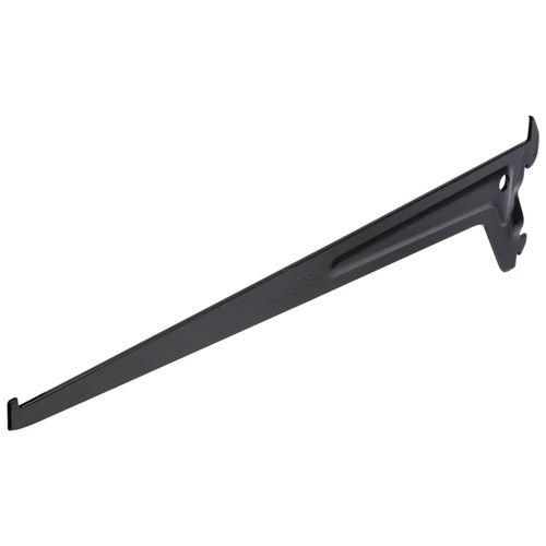 Duraline f-drager enkel zwart 35cm